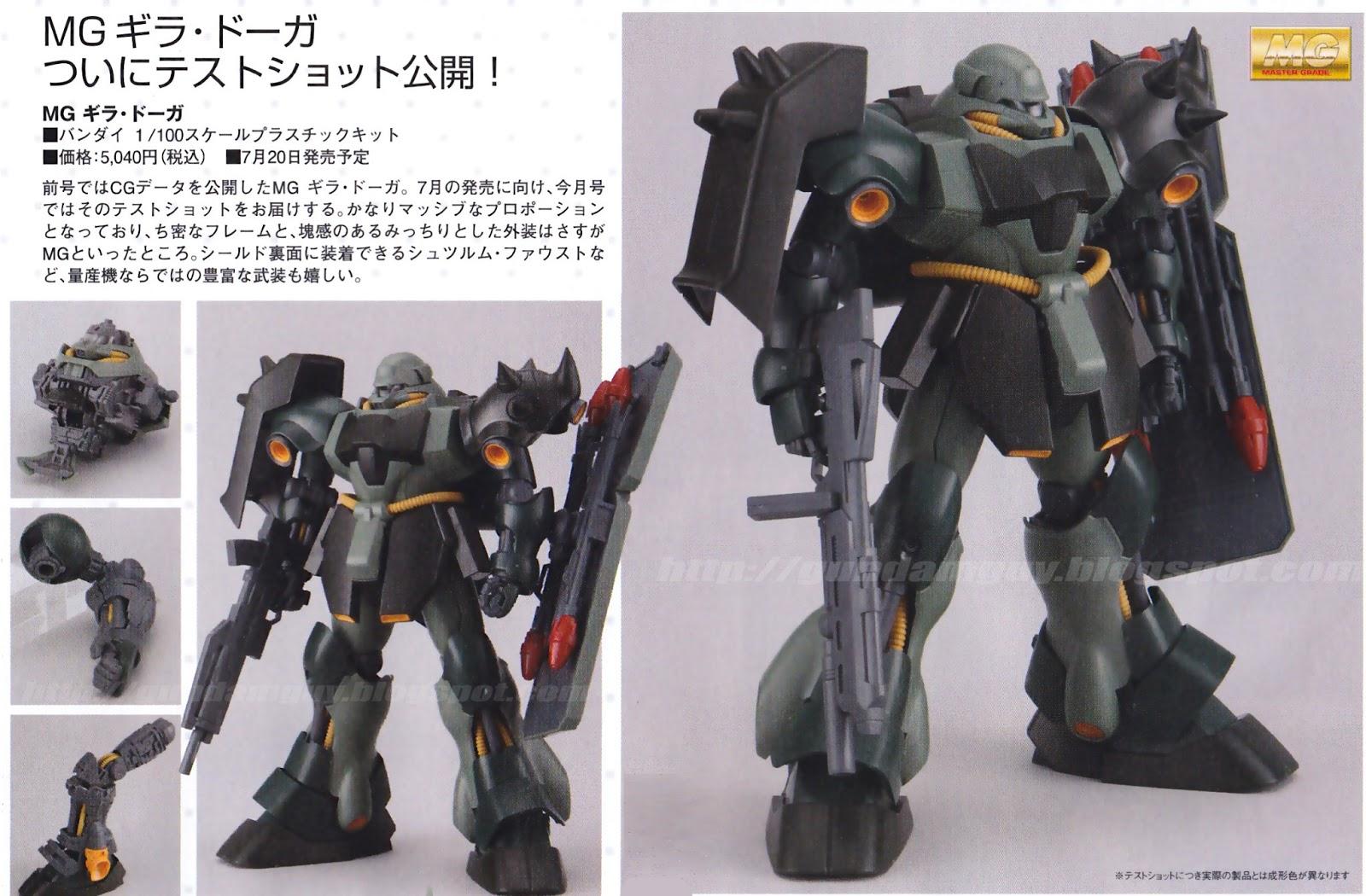 AMS-119 Geara Doga GUNPLA MG Master Grade 1//100 Gundam Char/'s Counter Attack