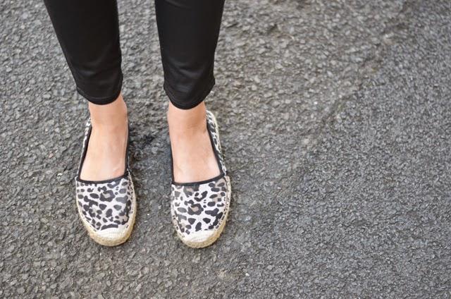 espadrilles léopard h&m