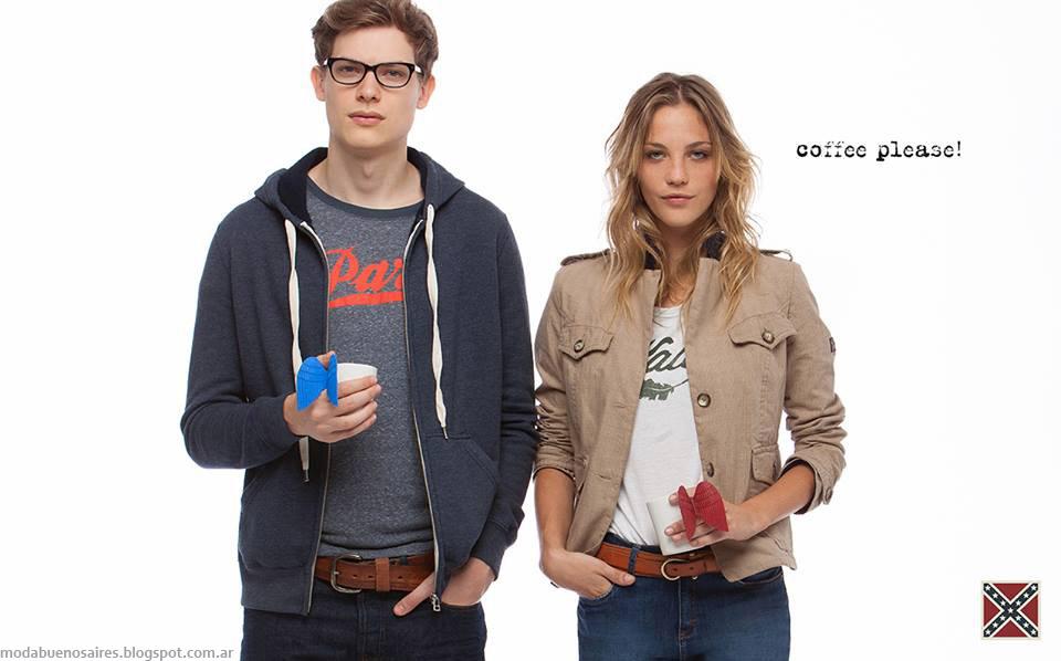 Cook otoño invierno 2015 ropa de mujer y hombre. Moda otoño invierno 2015.