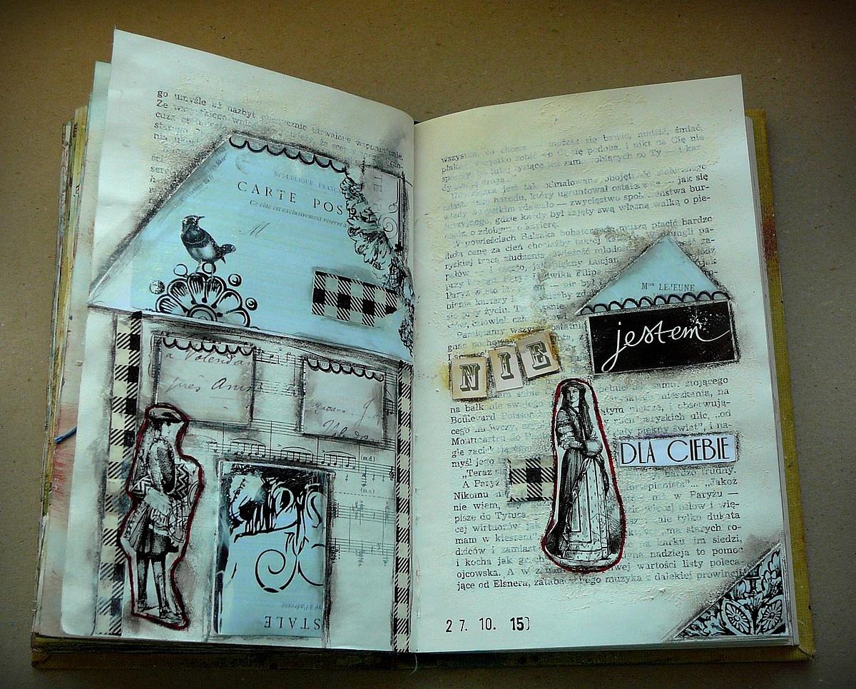 art journal - domki