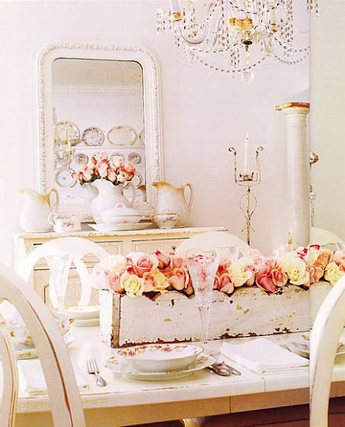 Estilo shabby chic for Decoracion vintage romantica