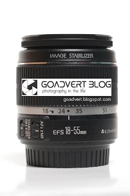 Lensa Kit Canon EFS 18 - 55mm IS