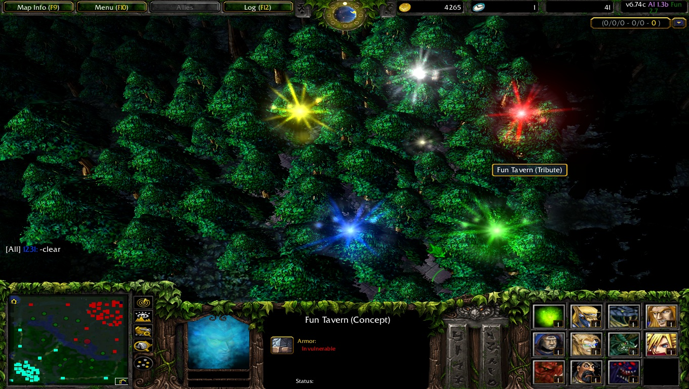 dota 6 77 ai fun v2 7c map download dota ai fun dota utilities