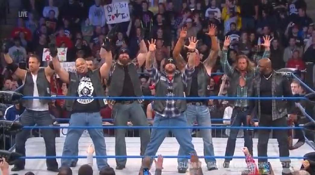 tna aces and eights angle