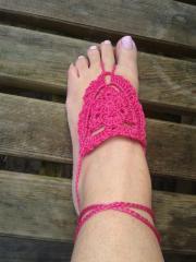 Haakpatroon Barefoot Sandals