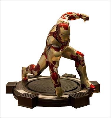 Iron Man Mark XLII Estatua Iron Studios
