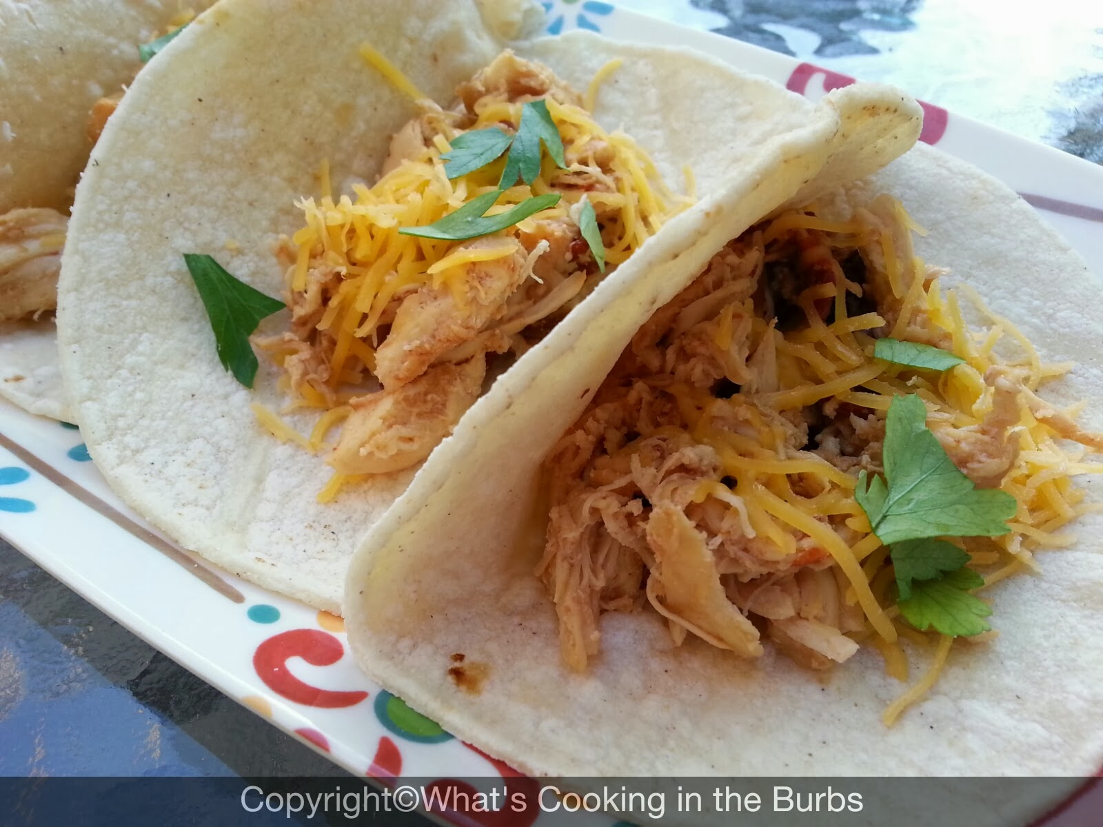 What's cooking in the burbs: Honey Chipotle Chicken Crock Pot Tacos