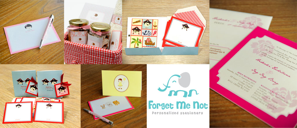 Forget Me Not Stationery