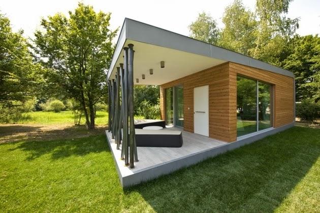 Inilah inspirasi Desain Rumah Kayu Sederhana 2015 yg menawan