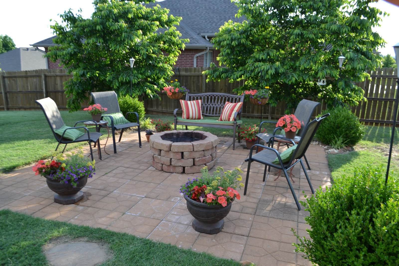 Kristen 39 s creations summertime patios for Ornamental garden design