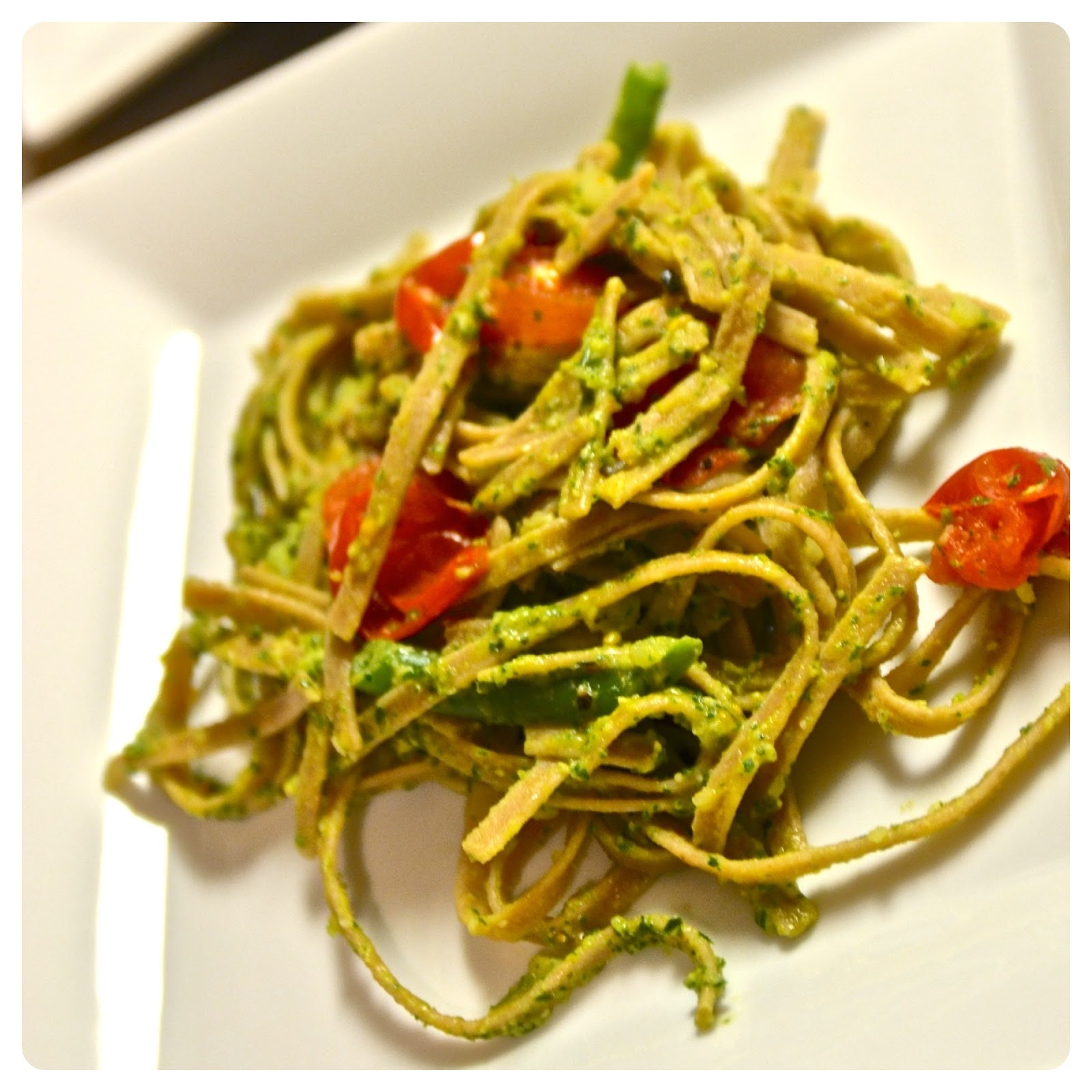 ... Rustic Genovese Basil Pesto Pasta, and Curried Chicken with Coconut