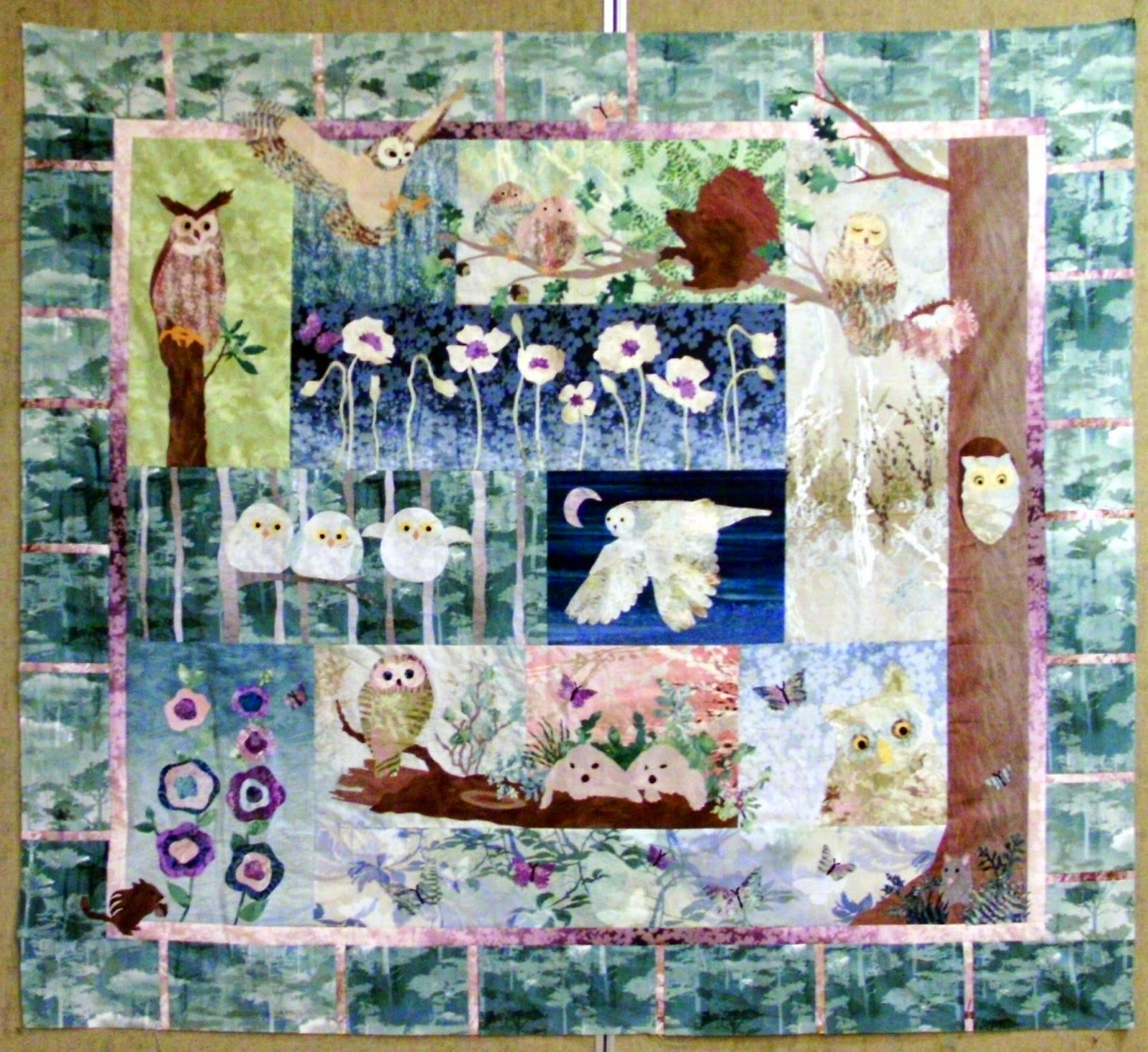 Confessions Of A Serial Quilter Progress Mckenna Ryan Quilt