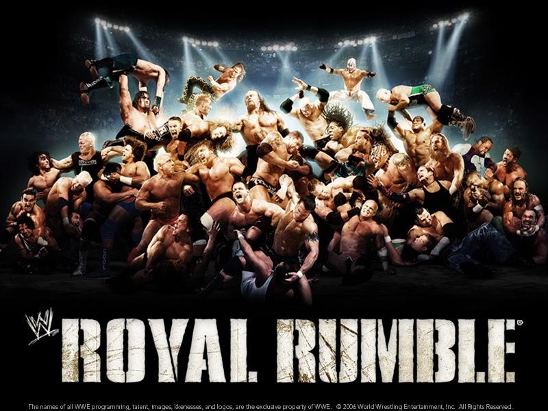 مشاهدة مباريات مهرجان رويال رامبل WWE Royal Rumble 2014 على قنوات osn