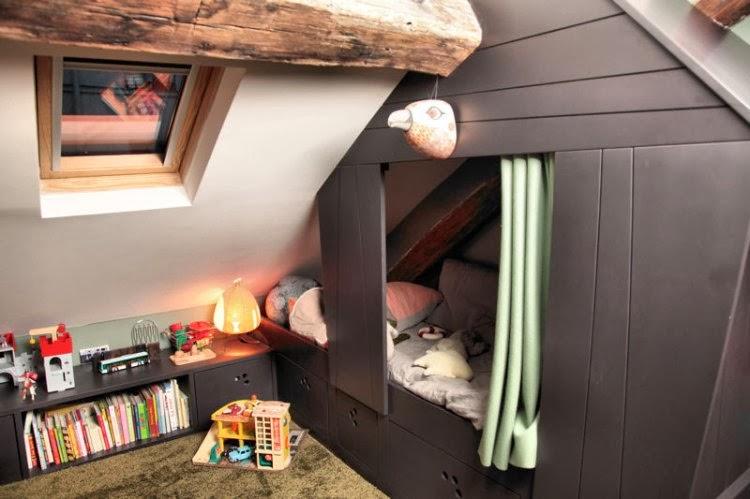 Adc l 39 atelier d 39 c t am nagement int rieur design d - Cabane enfant chambre ...