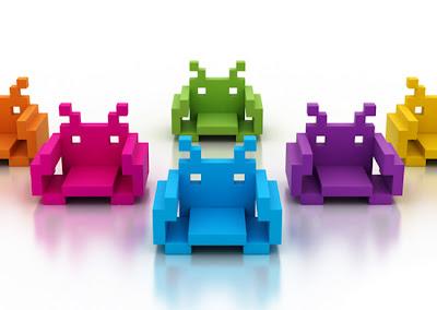 Imagen de una silla Geek