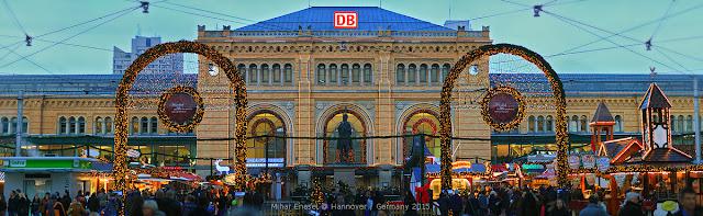 DB Hauptbahnhof Hanover, Germany.