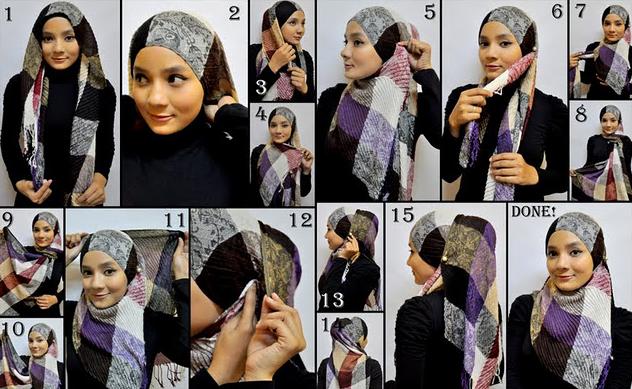 Cara Pakai Tudung 2 Muka | Black Hairstyle and Haircuts