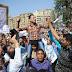 """بالفيديو..بعض متظاهرين """"مليونية مصر مش العزبة"""" يتراقصون بالتحرير وأحدهم يقول:""""نريد عودة الوطني"""""""