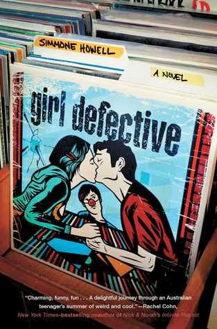 Girl Defective Simmone Howell book cover