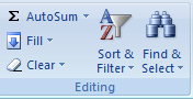 Menggunakan Filter Pada Excel
