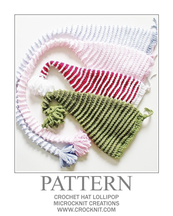 Knitting Pattern For Baby Elf Hat : MICROCKNIT CREATIONS: Perfect Crochet Hat CHRISTMAS SANTA ...