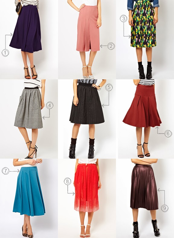 Über Chic for Cheap: Must Have: Asos Modest Skirts