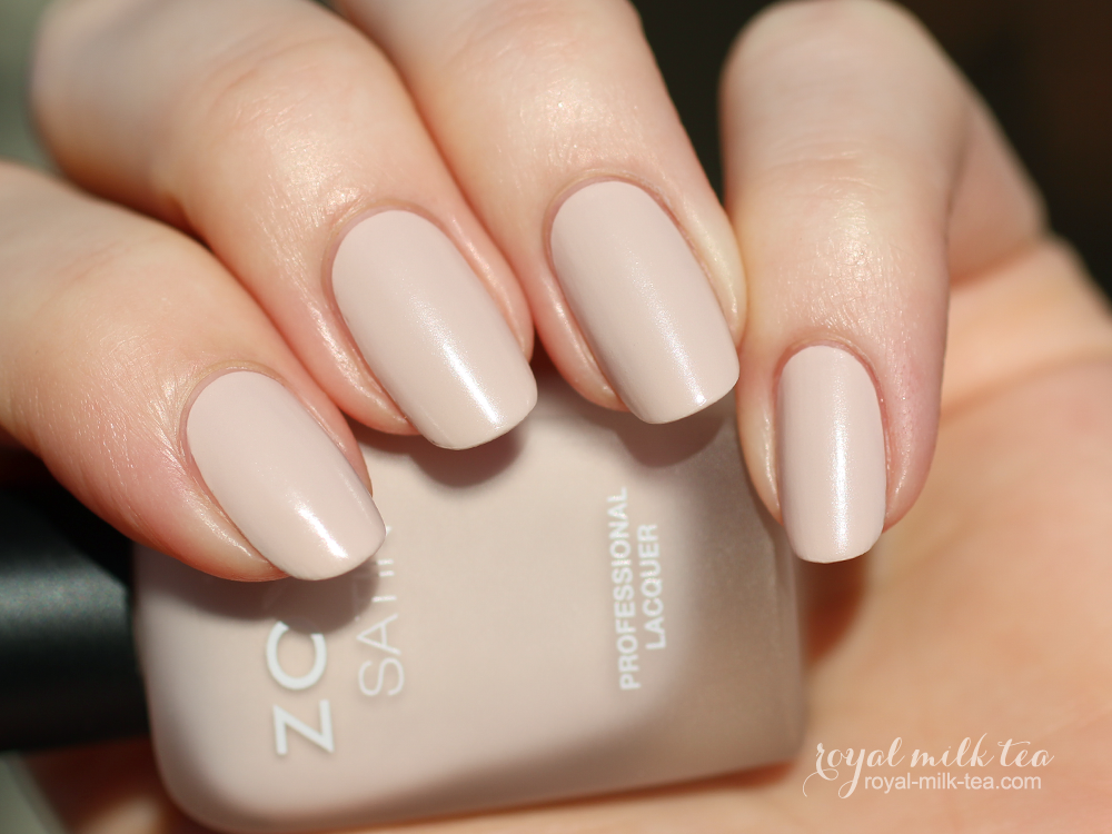 Royal Milk Tea Zoya Ana Swatches