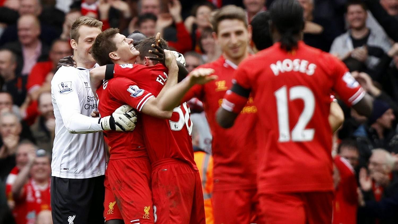 La victoria del Liverpool ante el City podría significar el título.