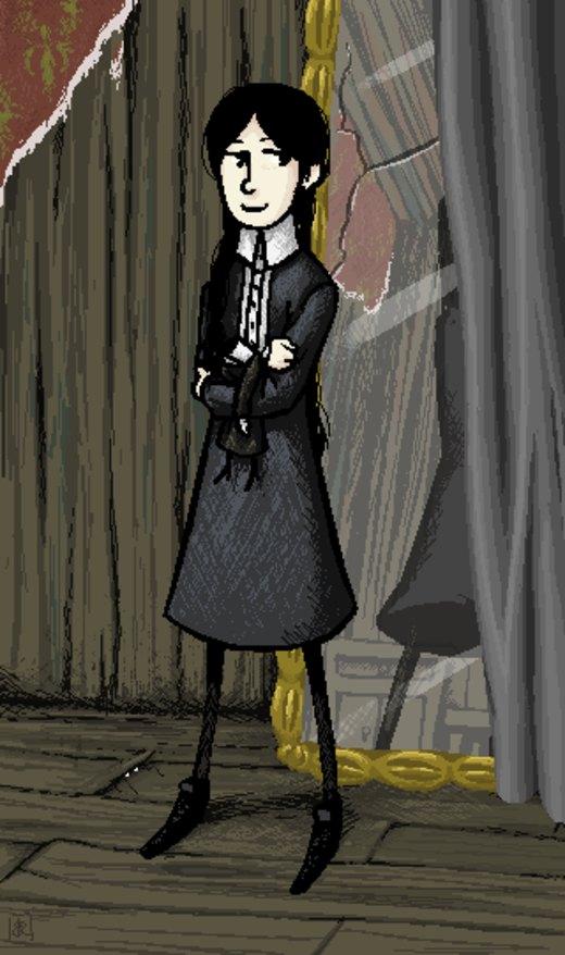 Wednesday Addams por xXKatrynaXx