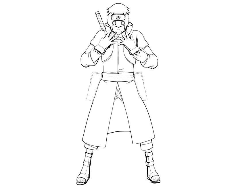 printable-naruto-torune-aburame-character-coloring-pages