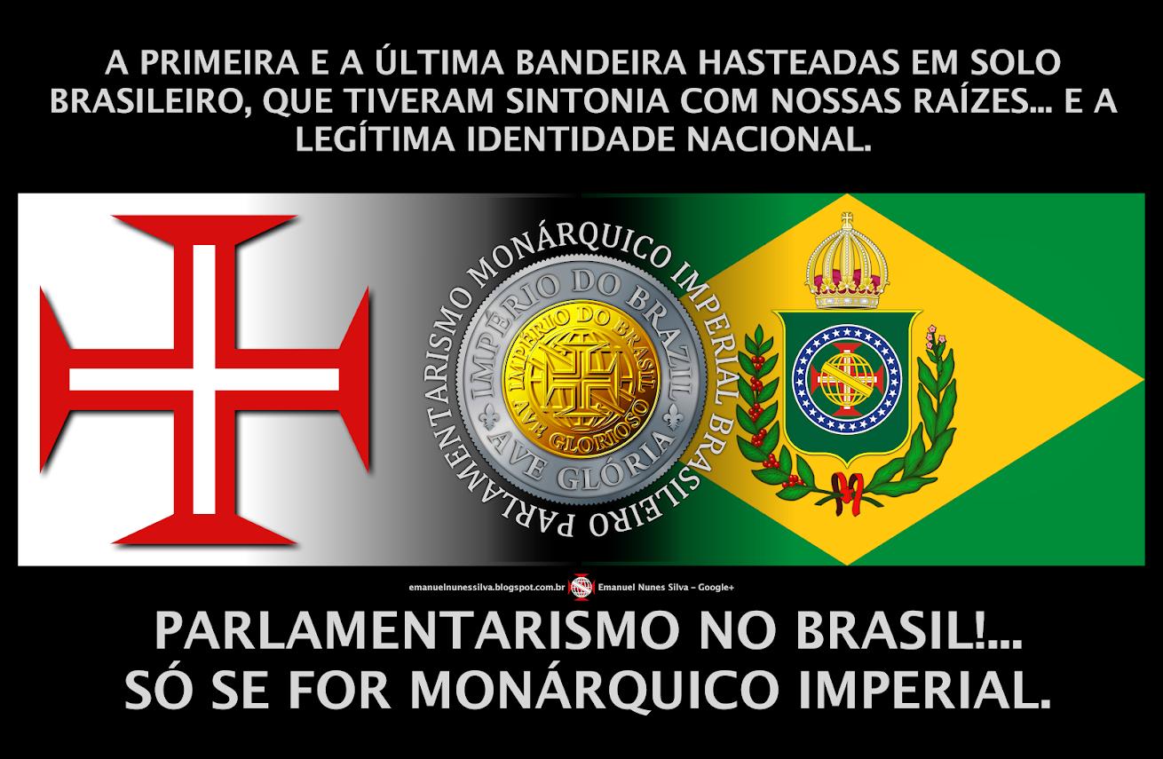 ENQUANTO O PRESIDENTE É DA REPÚBLICA − O IMPERADOR É DO BRASIL.