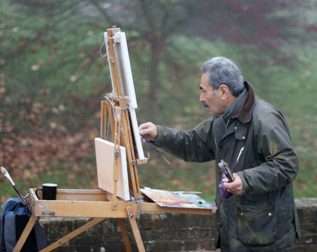 Richmond, Thames, river, painter, artist