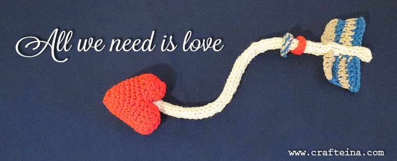 All we need is love. Crafteina.com