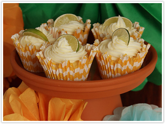 Margarita Cupcakes | Paper & Party Love
