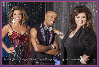 Rachelle Rak, Richy Jackson and Abby Lee Miller from Abby's Ultimate Dance Competition season 2