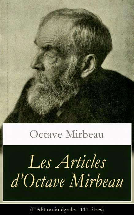 Les articles d'Octave Mirbeau, E-artnow, janvier 2015