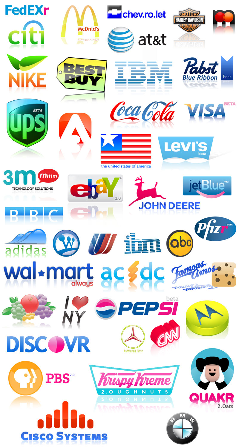 Famous Free Logos Gallery | New Logo Gallery