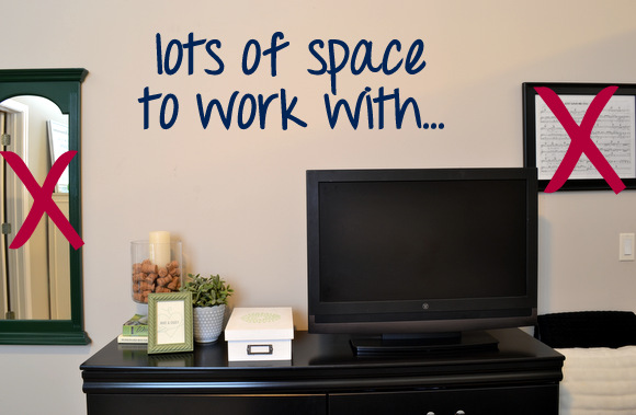Wall behind television, does it work? Mirror Gallery Wall Inspiration | DIY Playbook