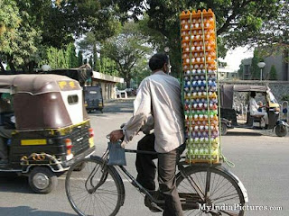The funniest picture of bikes in India