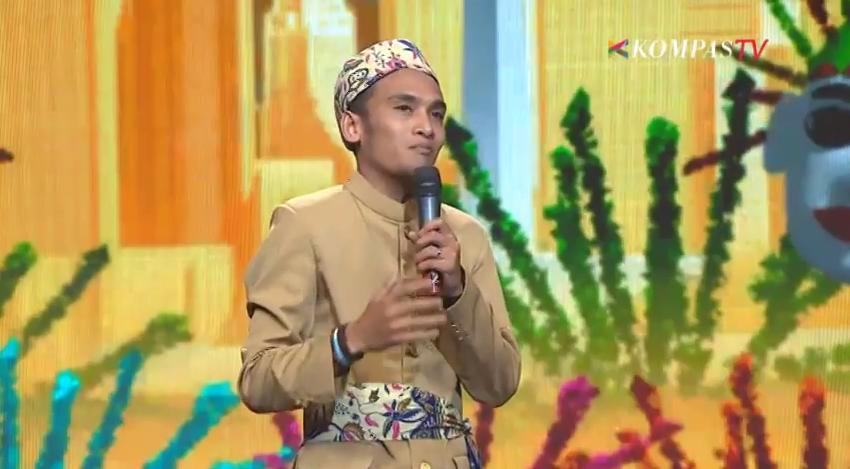 Puisi Abdur di Final SUCI4 KompasTV