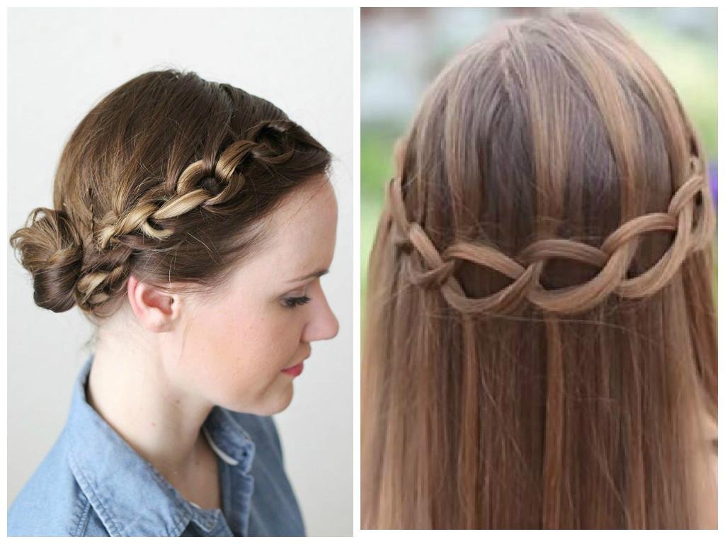 bonitos peinados cadena paso a paso