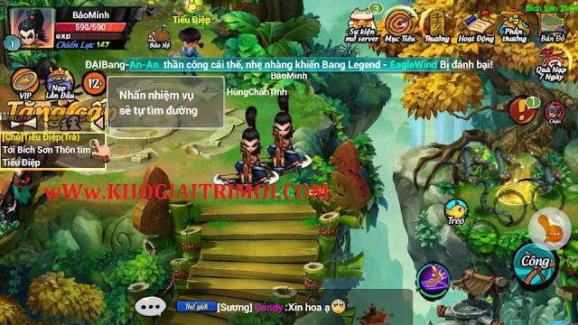 Hướng dẫn nạp VÀNG trong game Lãng Khách
