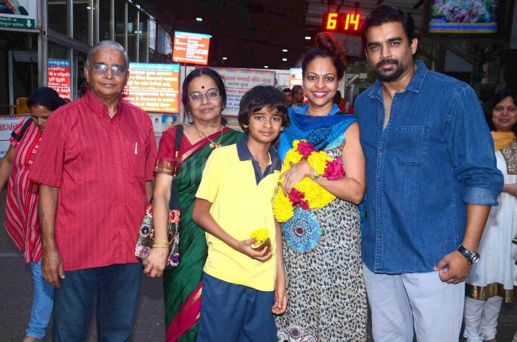 Madhavan family