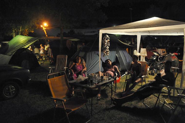 .. de campamentos en carnaval...