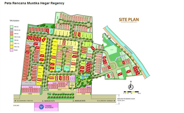 Perumahan Mustika Hegar Regency