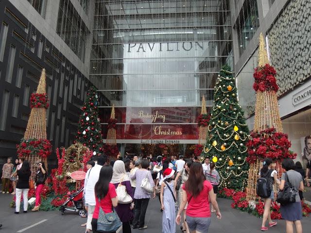 The entrance of Pavilion Mall, Kuala Lumpur, Malaysia