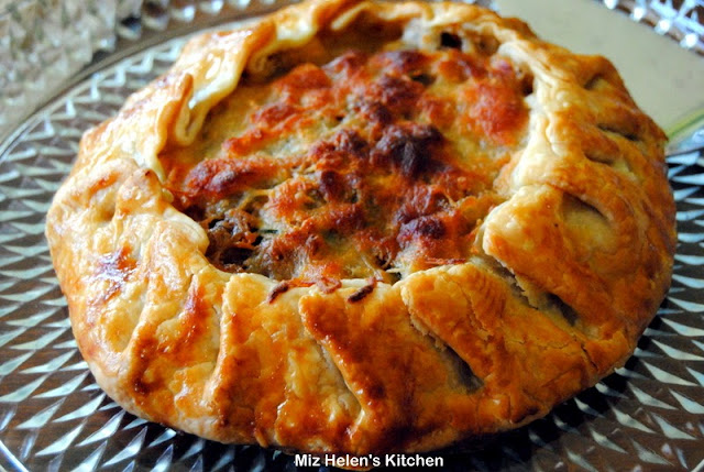 Zucchini & Carmelized Onion Galette
