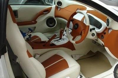 memperbarui interior mobil