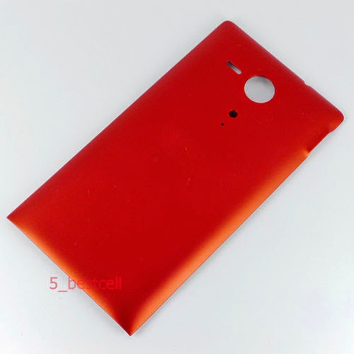 Red Back Door Battery Cover Case Replacement For Sony Xperia SP M35h