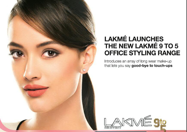 Angela Johnson - Face of Lakme 9 to 5 The Office Stylist Range